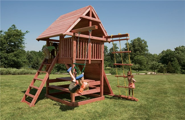 Tømrerarbejde: The Best Wooden Swingsets