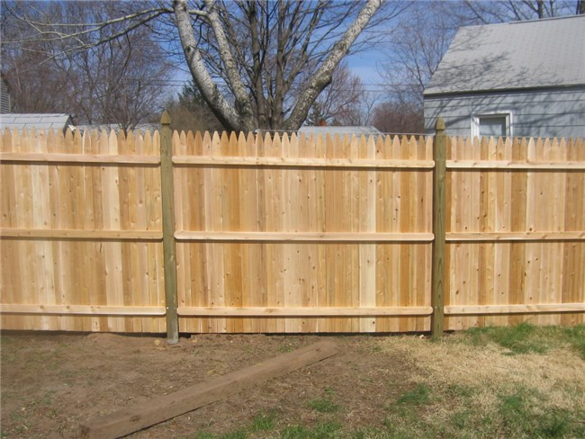 Cedar Fence Ideas