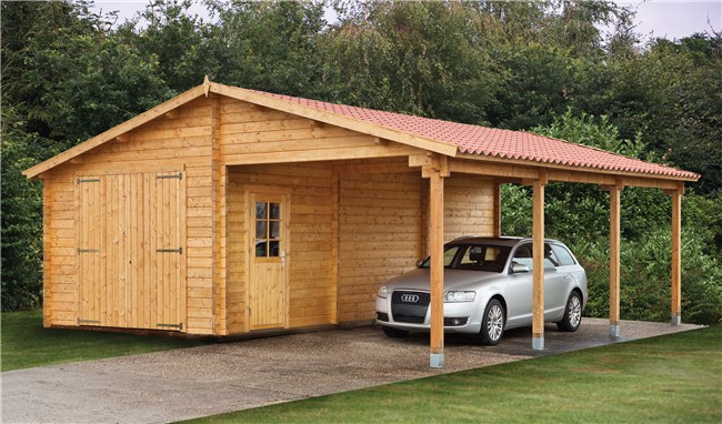 Gratis DIY Lean-to Shed Planer