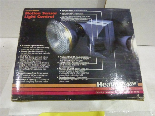 Instrucciones de Heath Zenith Motion Light Control