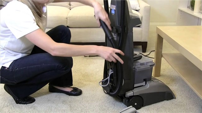 Hoover SteamVac Spin Scrub Directions