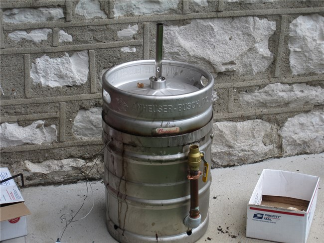 Beer Keg Roaster-instructies