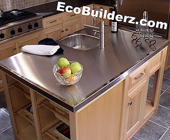 Laminate Countertop Metal Trim Installation