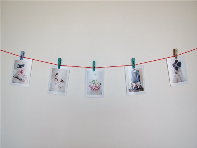 DIY Indoor Clothesline