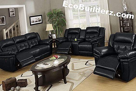 Verf: Living Room Decorating Ideas With Leather Furniture