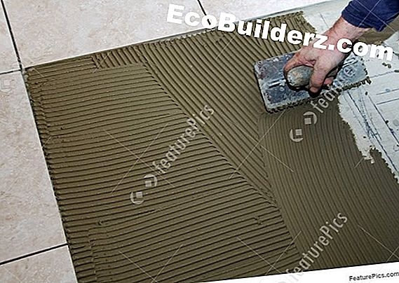 Rivestimenti: Trowel Size for Laying Ceramic Tile