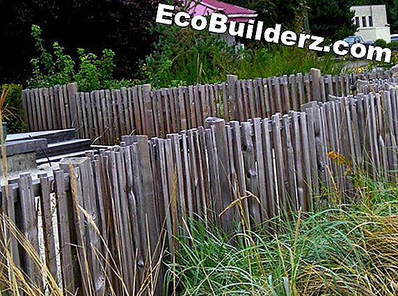 Rustic Log Fence Ideas