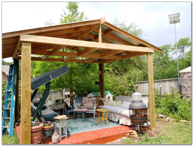 Timmerwerk: Do-It-Yourself: Patio Cover Plans