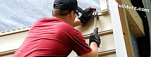 Verf: Hoe Vinyl Siding Caulk