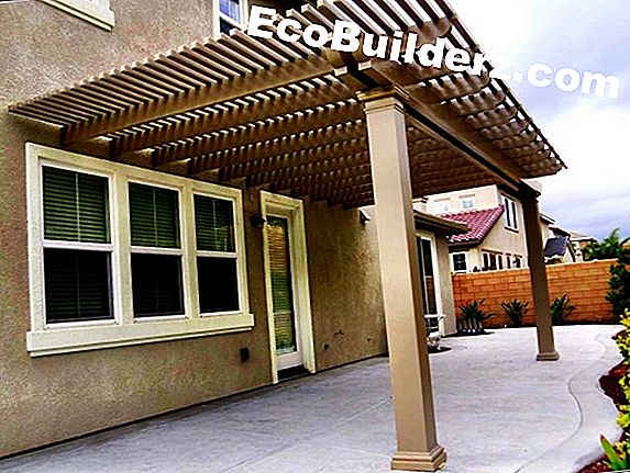 Timmerwerk: Lattice Roof Porch Ideas