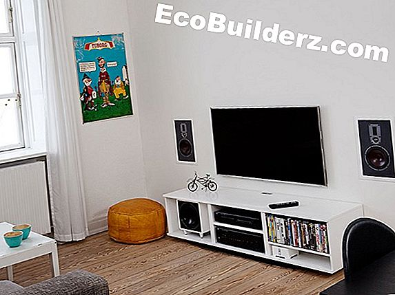 Luidsprekers installeren in een plafond voor surround sound