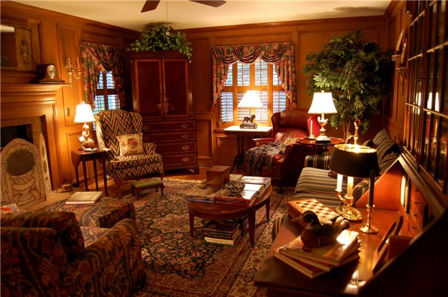 Verf: English Hunting Lodge Decorating Ideas