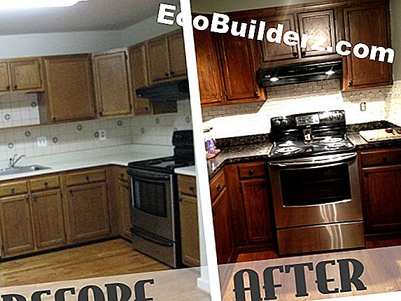 Restain Stained Cabinets