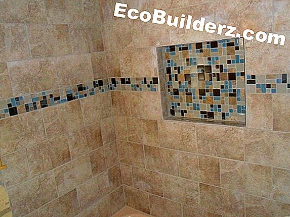 Tegels: Tile Shower Border Ideas