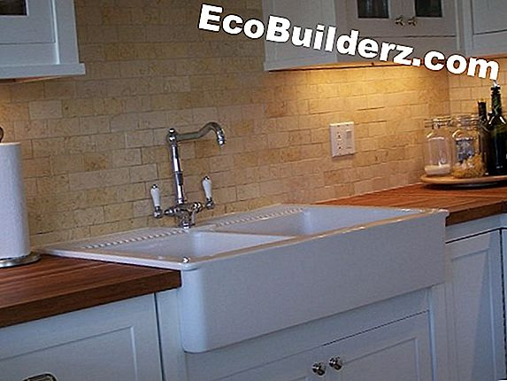 Ondersteunde Vs. Tile-In Sinks